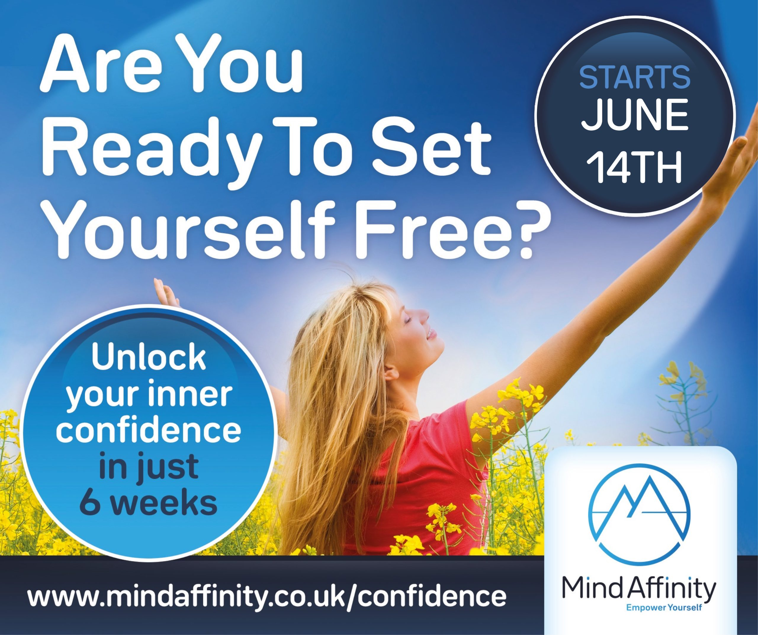 Are You Ready To Set Yourself Free?