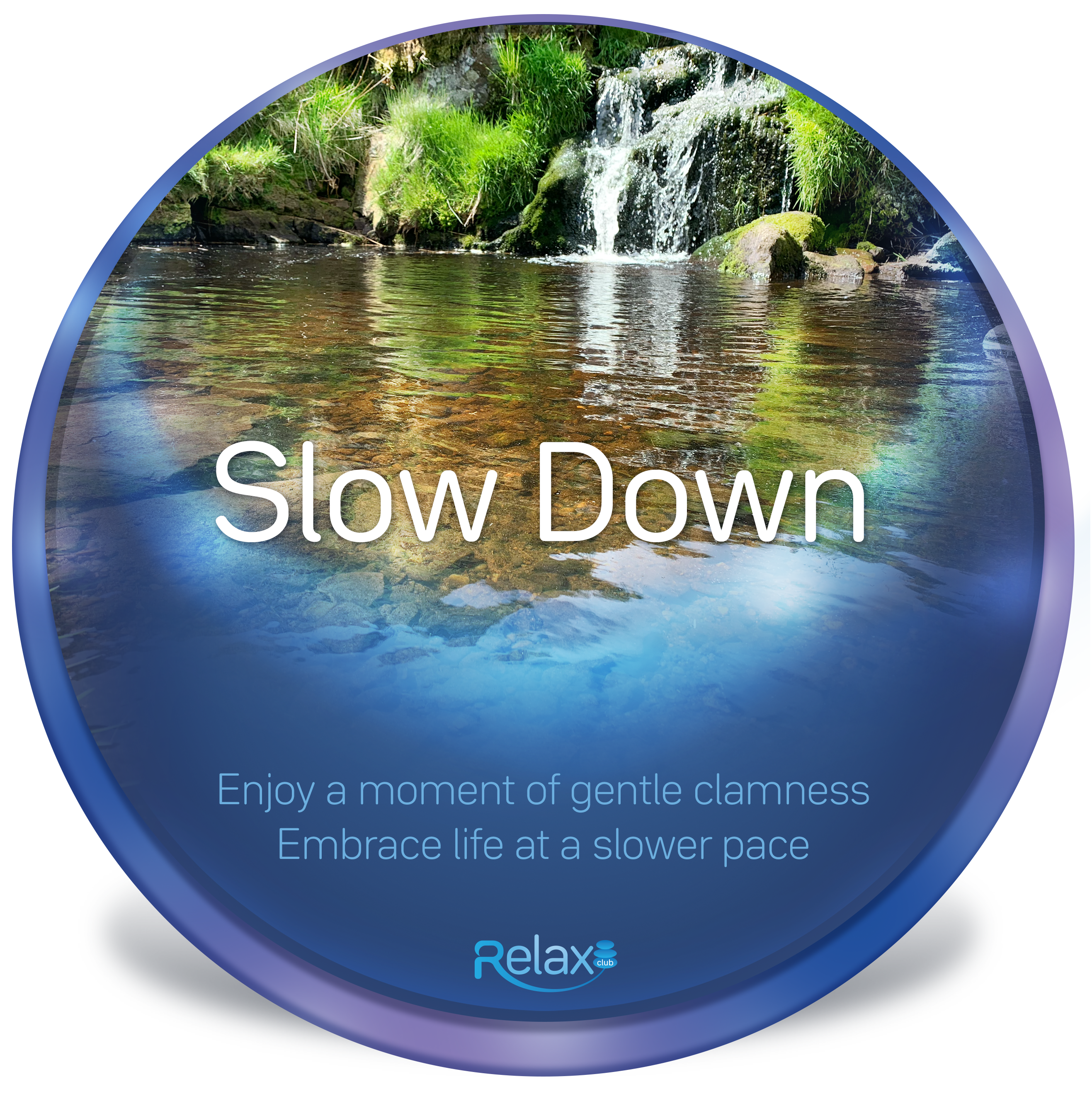 Slow down cover art
